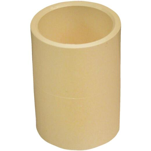 Genova 1/2 In. Solvent Weldable CPVC Coupling with Stop (20-Pack)