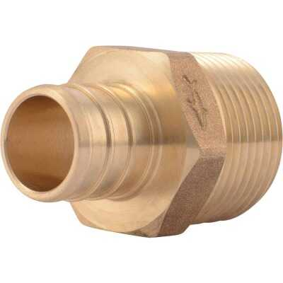 SharkBite 3/4 In. CF x 3/4 In. MPT Brass PEX Adapter