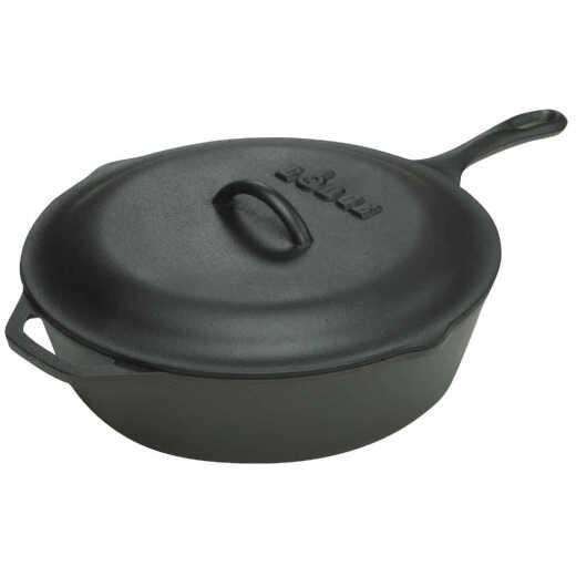 Lodge 10-1/4 In. 3 Qt. Cast Iron Chicken Fryer