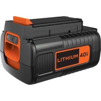 Black & Decker 40V 2 Ah Power Tool Replacement Battery