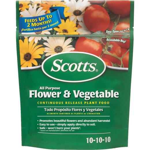 Scotts 3 Lb. 10-10-10 All-Purpose Flower & Vegetable Dry Plant Food