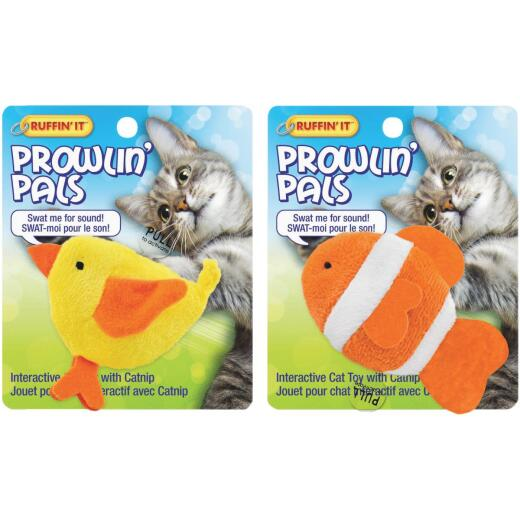 Westminster Pet Ruffin' It Prowlin' Pals Plush Cat Toy