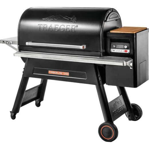 Traeger Timberline 1300 Black 19,000 BTU 1343 Sq. In. Wood Pellet Grill