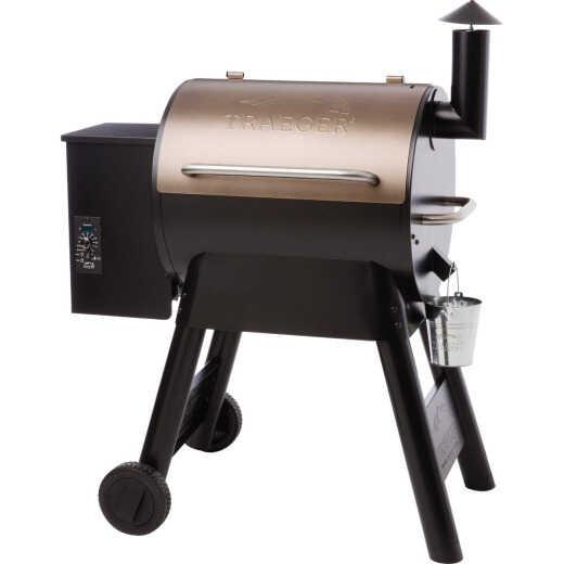 Traeger Pro Series 22 Bronze 20,000-BTU 572 Sq. In. Wood Pellet Grill